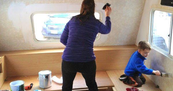 peindre la tapisserie id es pinterest note peinture int rieure et camping cars. Black Bedroom Furniture Sets. Home Design Ideas
