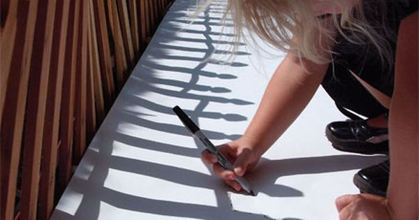 Shadow tracing. Outdoor learning. Teaching. Classroom. Resources. EYFS. Early Years. Reception. Children.