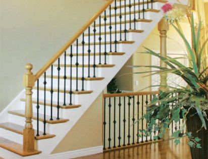 Best Home Depot Balusters Interior Wrought Iron Spindles 1 2 Round With 1 2 Decorations 400 x 300