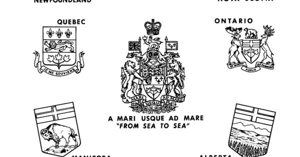 Canada Day Coat Of Arms Canadian Provence