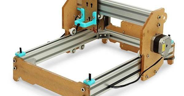 eleksmaker elekslaser a5 pro engraving machine cnc printer without laser module selber machen. Black Bedroom Furniture Sets. Home Design Ideas