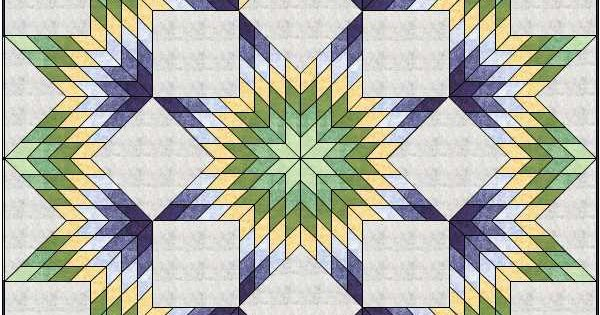 Lone Star Quilt Pattern Queen Size : Quiltin Bs Broken Star/Lone Star quilt Plano ASG A QUILT - Stars of Fancy Pinterest ...