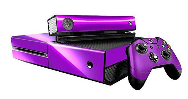 Microsoft Xbox One Skin Xb1 New Purple Chrome Mirror System Skins