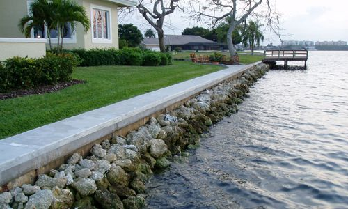 Vinyl Seawall Pics Google Search Lake Landscaping Sea Wall Backyard Oasis