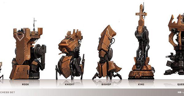 Concept Artist Luke Mancini Has Created An Interesting