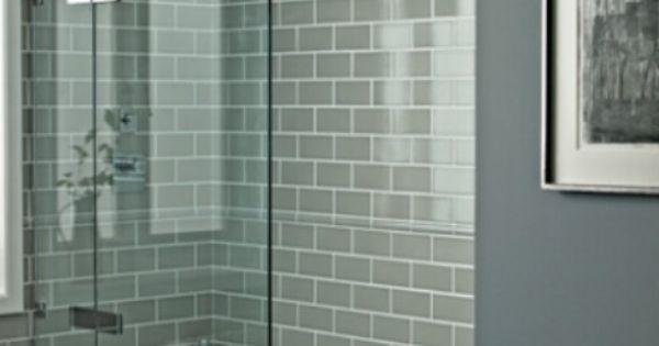 Pure Wool 3x6 Glass Tile Bathroom Pinterest Glass