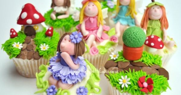 The Enchanted Fairy Garden Cupcake Class Pretty Witty ...