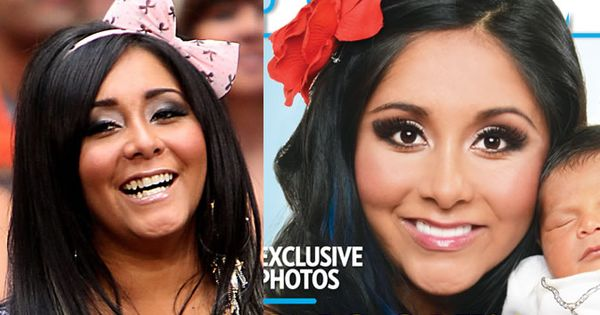 snooki before and after face wwwimgkidcom the image