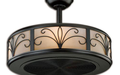 Turn Of The Century Athens 21 In New Bronze Ceiling Fan 186 Light And Fan Master Light It