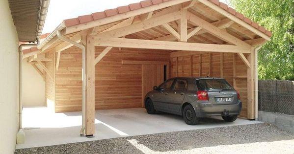 Ihr Baumeister Von Garagen Und Holzbauten In Rhone Alpes Haus Holzbau Carport Bauen