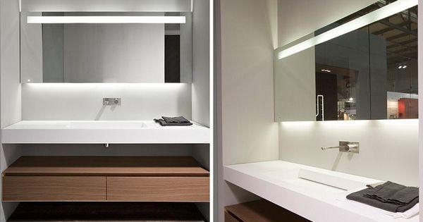 Espejos de ba o con luz pir mide selva pinterest - Espejos con luz ...