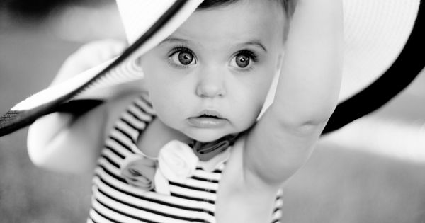 Baby Photo Idea - Big Hats