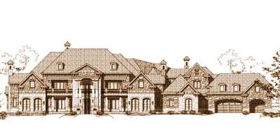 Luxury Style House Plans 13782 Square Foot Home 2 Story 7