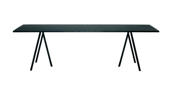 Kök köksbord hay : Tilskud til sort Loop stand bord fra Hay, 160 cm (til den bagerste ...