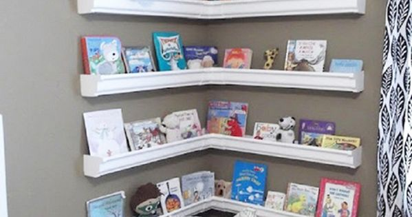 Do It Yourself Bookshelf Ideas: Sports Trophies, Home Ideas And