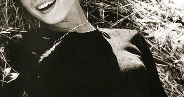 Audrey Hepburn at La Vigna, the Italian farmhouse Mel Ferrer rented for
