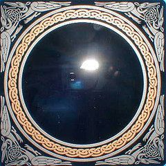 How To Make A Scrying Mirror Sacred Wicca Scrying Mirror Scrying Mirror