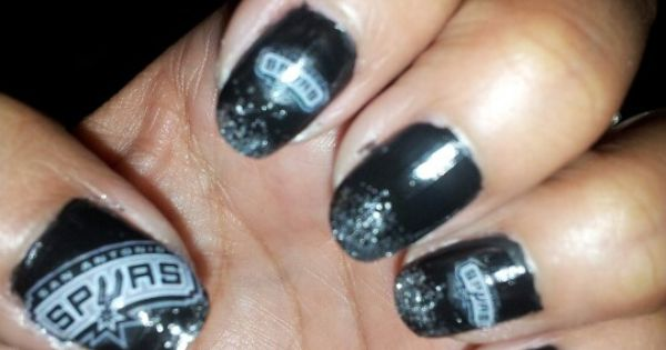 Spurs Nails Cute Things Pinterest Mani Pedi And Makeup