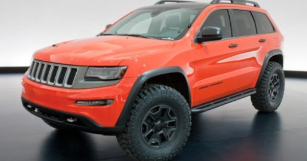 More Moab Jeep Reveals Jeep Grand Jeep Concept Grand Cherokee Trailhawk