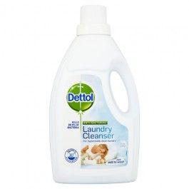Dettol Anti Bacterial Laundry Cleanser 1 Litre Antibacterial Laundry Detergent Cleanser Cleaning