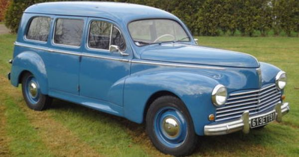 1953 Peugeot 203 Familiale On Car And Classic Uk C455264