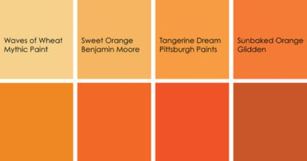 From Houzz If You Want To Use Orange In Your Kitchen But
