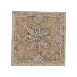 Decorative Porcelain Tile Deco 4 25 X 4 25 Porcelain Tile Flower Deco Tile Insert Kitchen Ornaments Decor Accent Tile