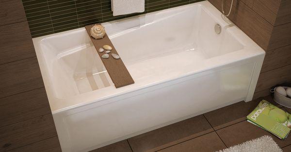Exhibit Ifs Alcove Bathtub Maax Professional Simple