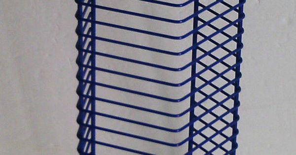 This Purple Wire Cd Jewel Case 24 Holder Storage Wall Rack