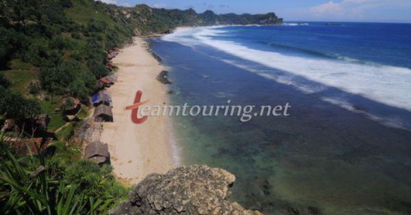 Pantai Nampu Wonogiri Pesona Wisata Unggulan Wonogiri Pantai Pemandangan Pedesaan