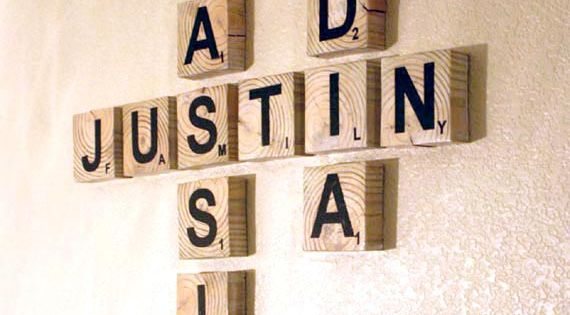 scrabble art family names game room art 2 diy pinterest scrabble art scrabble and art. Black Bedroom Furniture Sets. Home Design Ideas