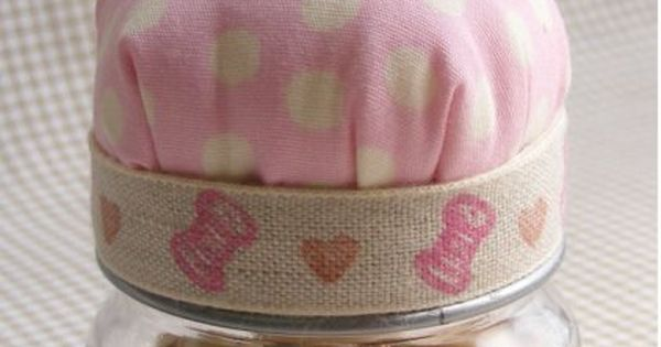 Agape Gift Idea Baby Food Jar Pincushion Cute way to reuse those