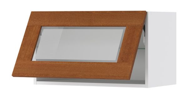 Upper Cabinet Redo Akurum Wall Cab Horizontal W Glass Door Ikea Door Lift With Catch Included