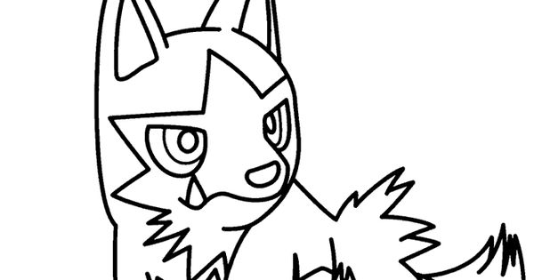 Pokemon coloring pages pokemon coloring pages for kids for Poochyena coloring pages