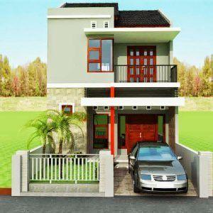 informasi ukuran 6x9 desain rumah tingkat minimalis 2020