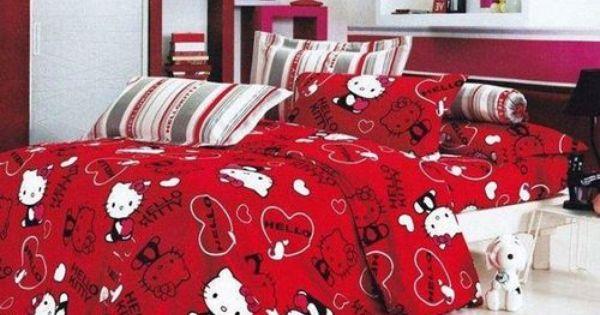 Pin By Tina Shuert On Hello Kitty 3 Hello Kitty Bed Hello Kitty House Hello Kitty Rooms