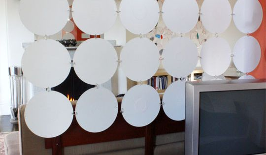 Room Divider (uh, no, we're NOT using paper plates diy'ers:) These are