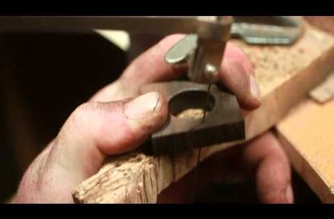 I make many wooden rings, I can watch this over, and over,
