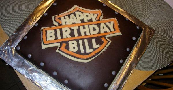 harley davidson Cake, idea for my dads birthday