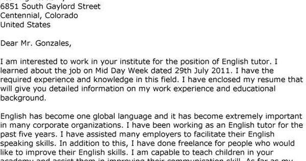 Letter Job Application English Surat Lamaran Pekerjaan Home   Enclosed Is My  Resume  Enclosed Is My Resume