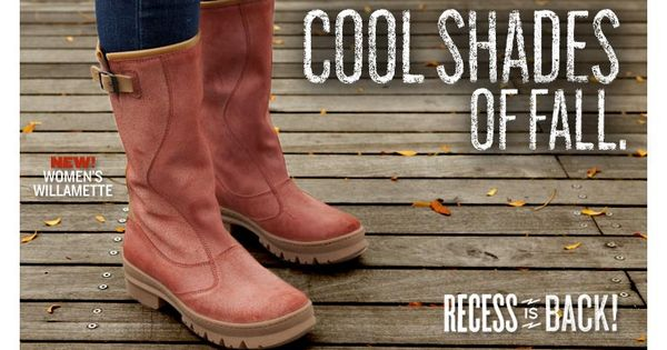 Cool Shades of Fall with the Womens Willamette Boots boots keen fall