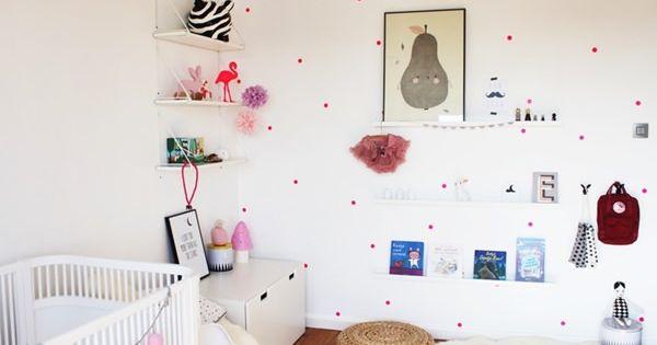 Las habitaciones de am lie y esm e habitacion infantil - Habitacion infantil nina ...