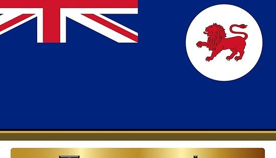 Tasmania Named State Flag Stickers Gifts And Products State Flags Flag Tasmania