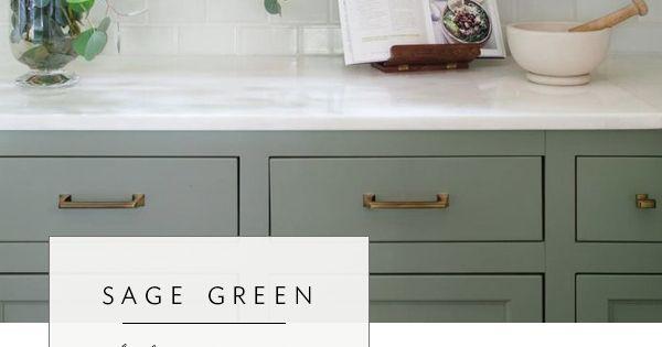 Our Top Color Palette Trends Spring 2017 Sage Green