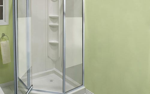 Maax 174 38 Quot Summit Neo Angle Shower Kit At Menards