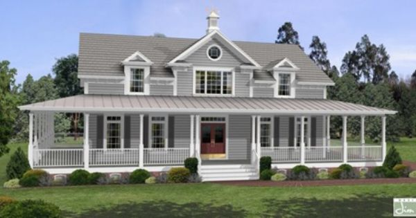 country farmhouse southern house plan 92465 porch and wraps
