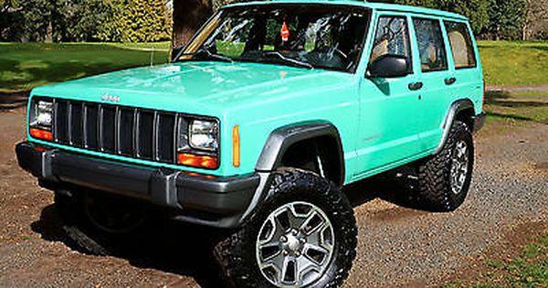 Ebay 1998 Jeep Cherokee 1998 Jeep Cherokee Rubicon 4 0l 4x4