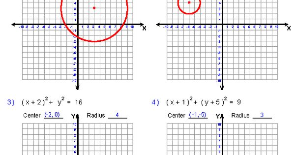 graphing equations of circles worksheets math aids com pinterest equation worksheets and. Black Bedroom Furniture Sets. Home Design Ideas