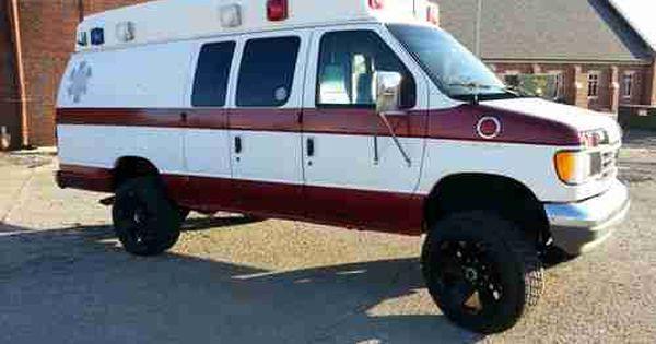 Find Used 1992 Ford E350 Van 4x4 1 Ton Ambulance Extended Van Ambulance 4x4 Van