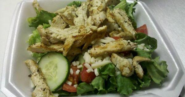 Chicken salads, Grilled chicken salad and Chicken on Pinterest